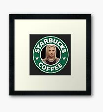 Starbucks Coffee Framed Print