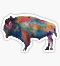 Buffalo, NY Watercolor Sticker