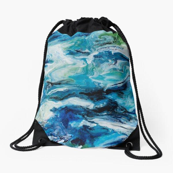 Utopia Resin Artwork Drawstring Bag