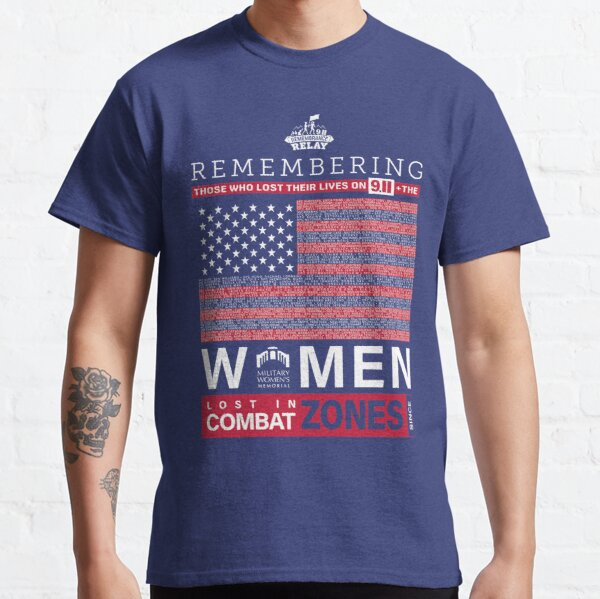 Military Women's Memorial 9/11 Remembrance Relay T-shirts & Sweatshirts Classic T-Shirt