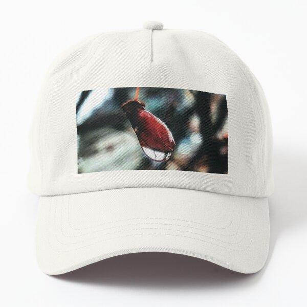 Red Dawn By Yannis Lobaina Dad Hat