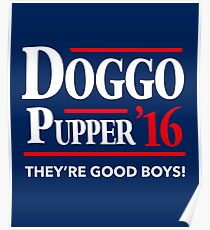 Doggo Pupper Poster