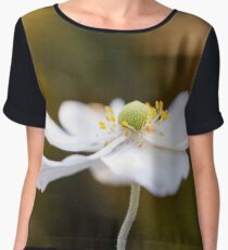 White Anemone  Chiffon Top