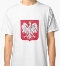Polish Eagle Shield Classic T-Shirt