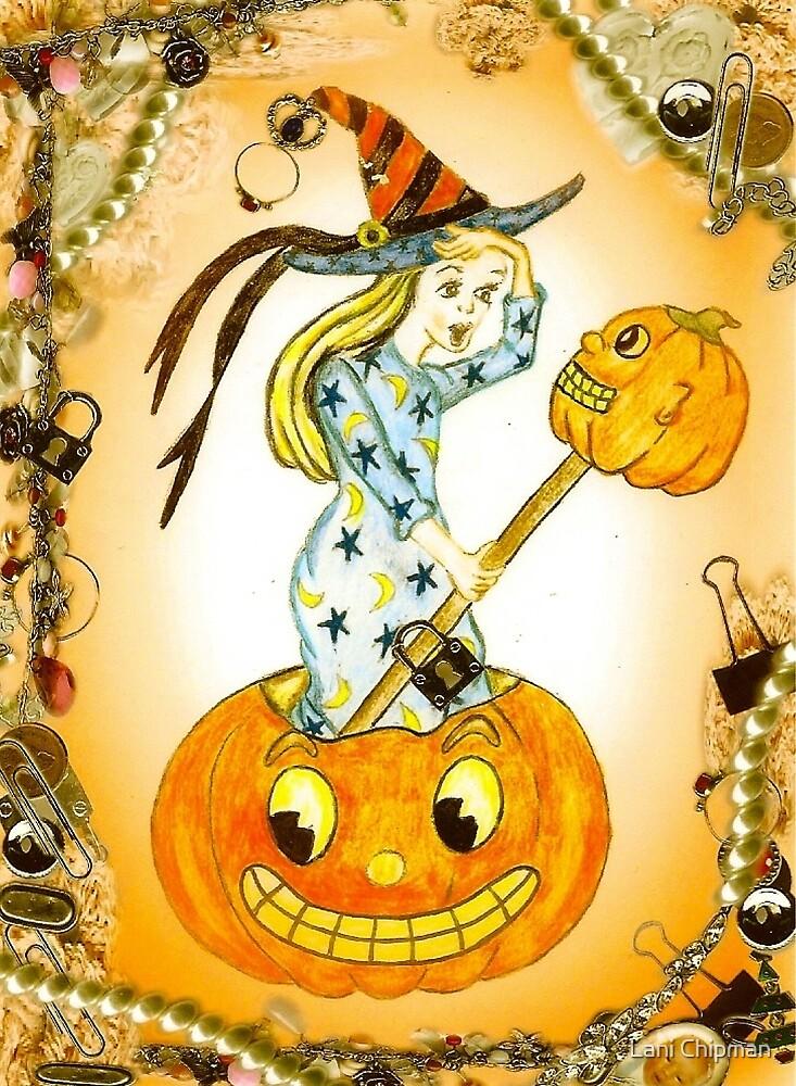 Vintage Pumpkin by Lani Chipman