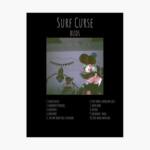Surf Curse - Buds - Album TRACKLIST Logo Photographic Print