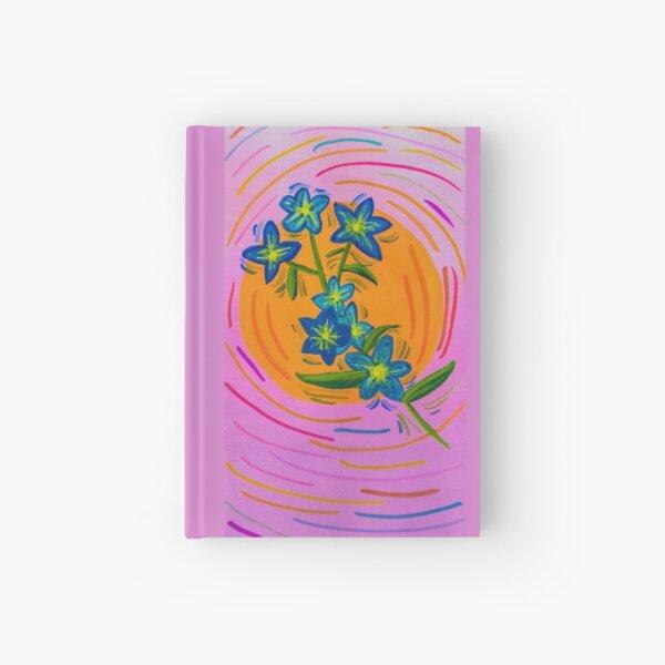 Simple Flower Hardcover Journal