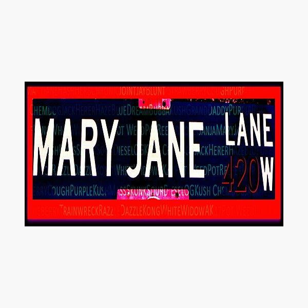 Mary Jane Lane Photographic Print