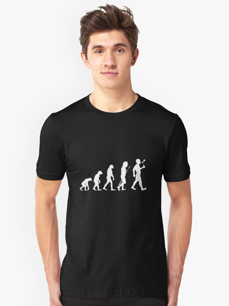 Vape Design Human Evolution Unisex T-Shirt