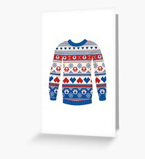 Cozy sweater Greeting Card