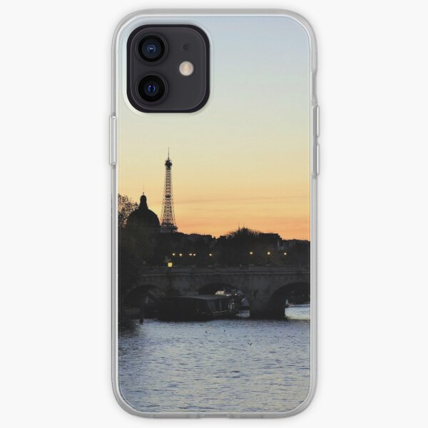Pont-Neuf at sunset, Paris iPhone Soft Case