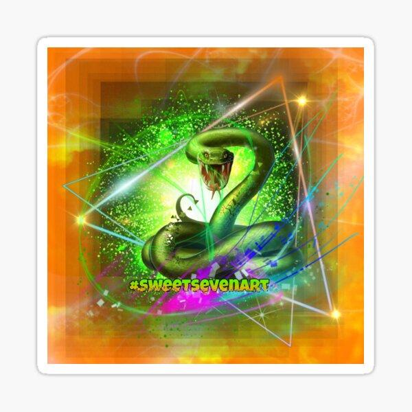 SweetSeven official Snake Design Sticker