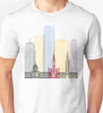 Oklahoma City skyline poster Unisex T-Shirt