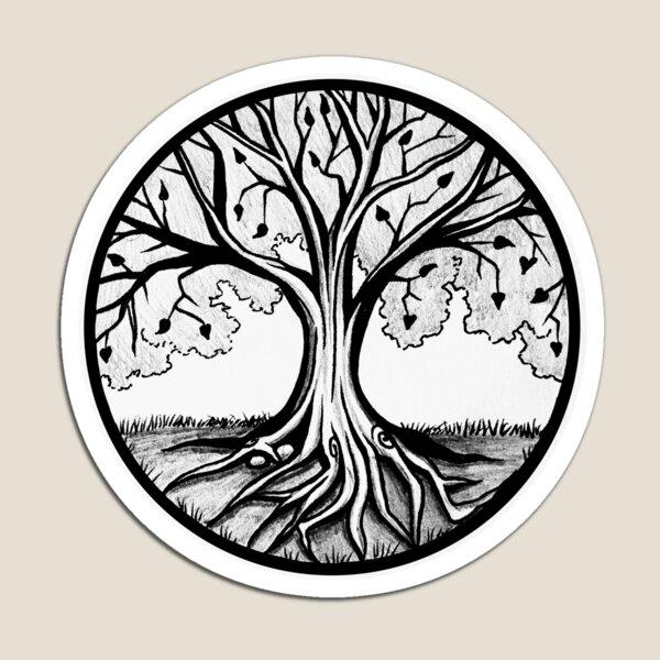 Thriving Tree Magnet