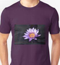 Purple Water Llily Unisex T-Shirt