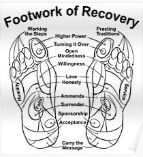 Footwork of Recovery Poster