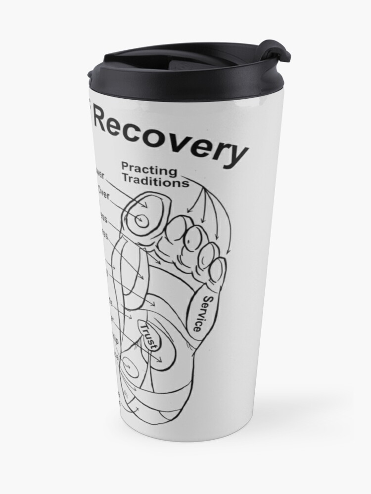 Alternate view of Footwork of Recovery Travel Mug