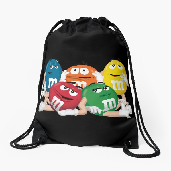 MandM Character Collection Drawstring Bag