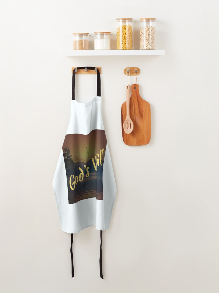 Alternate view of God's Will Apron