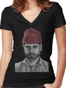 H3H3  Women's Fitted V-Neck T-Shirt