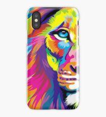 Multicolored Lion iPhone Case/Skin