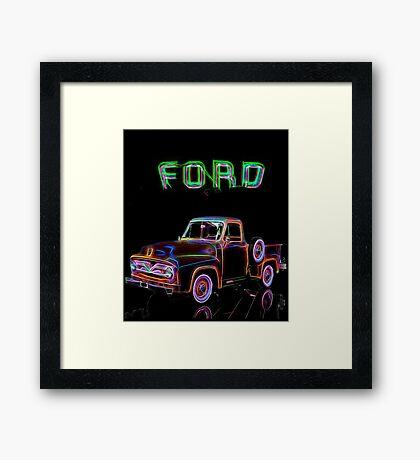 1955 Ford F150 Framed Print