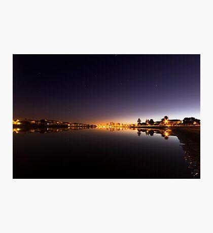 Mirror Calm Lagoon Beach Dawn Photographic Print