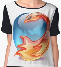 FIREFOX FAN Chiffon Top