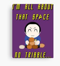 No Tribble... Canvas Print