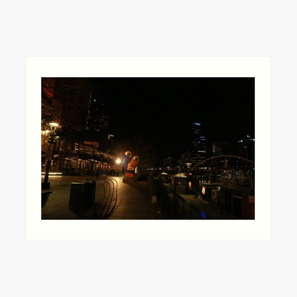 The Yarrah walk Melbourne  Art Print