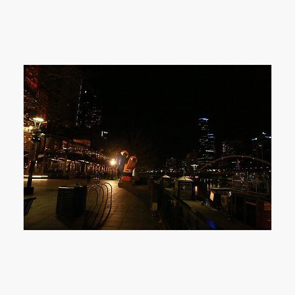 The Yarrah walk Melbourne  Photographic Print