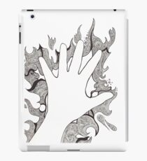 Hand of Chaotic Lines iPad Case/Skin