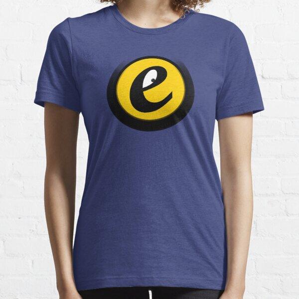 ONLY-E.DE // Das freundliche, kleine E // Fun // Emblem // Design Essential T-Shirt