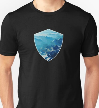 Birds View on the Alps (Velvia) VRS2 T-Shirt