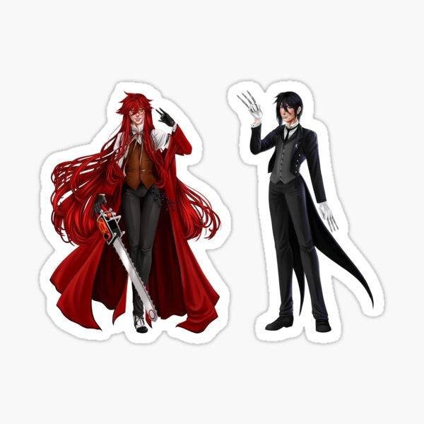 Sebastian and Grell Stickers Sticker