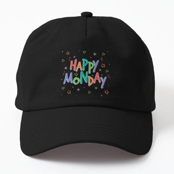Colorful Happy Monday Dad Hat