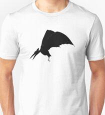 Pteradactyl (black) Unisex T-Shirt