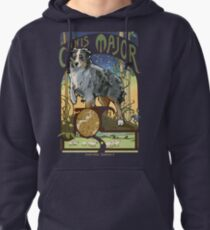 Australian Shepherd Art Nouveau Canis Major Constellation Pullover Hoodie