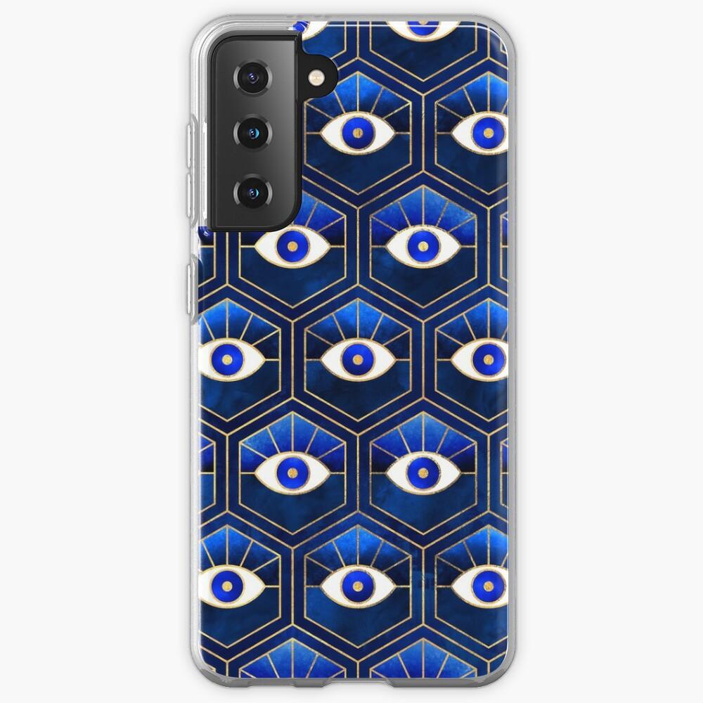 Eyes - Blue Case & Skin for Samsung Galaxy