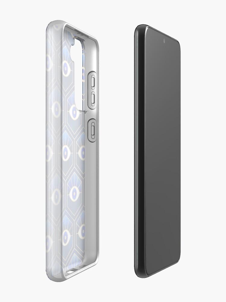 Alternate view of Eyes - Blue Case & Skin for Samsung Galaxy