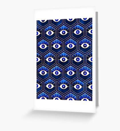 Eyes - Blue Greeting Card