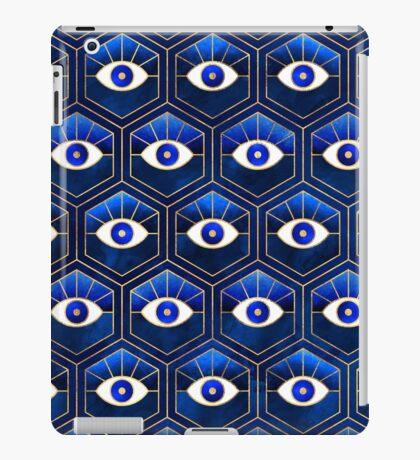 Eyes - Blue iPad Case/Skin
