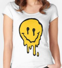 ACID SMILE Women's Fitted Scoop T-Shirt
