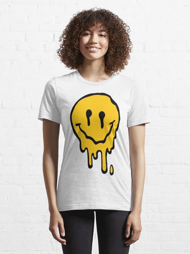 Alternate view of ACID SMILE Essential T-Shirt