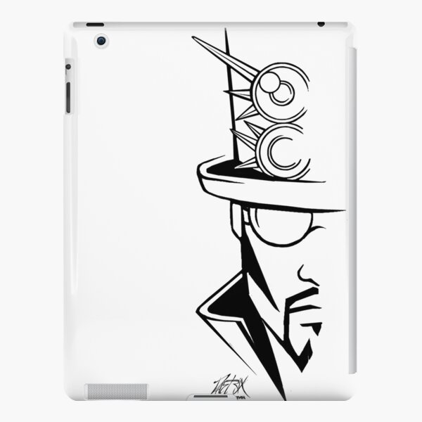 The Hatter iPad Snap Case