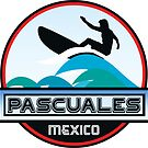 SURFING PASCUALES MEXICO SURF SURFER SURFBOARD BOOGIE BOARD MX by MyHandmadeSigns