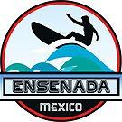 SURFING ENSENADA MEXICO SURF SURFER SURFBOARD BOOGIE BOARD MX by MyHandmadeSigns