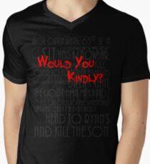 Would you kindly? Men's V-Neck T-Shirt
