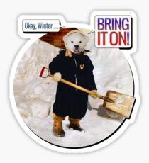 Okay, Winter . . . Bring it on! Sticker