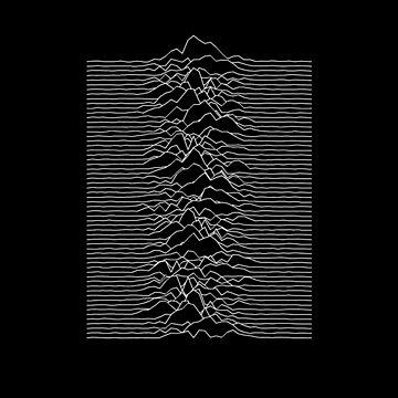 Joy Division - Unknown Pleasures by Daanhffman